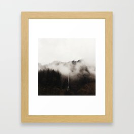 Multnomah Fog Framed Art Print