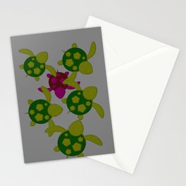 Turtles  Stationery Cards