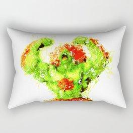Street Fighter II - Blanka Rectangular Pillow
