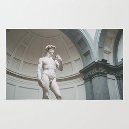 Florence, I Statue of David Rug