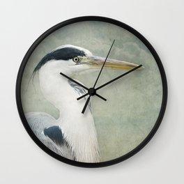 Cool Heron Wall Clock