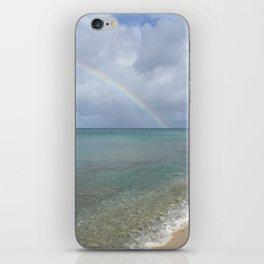 Rainbow in St. Croix iPhone Skin