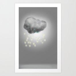 """Light"" Storm Art Print"