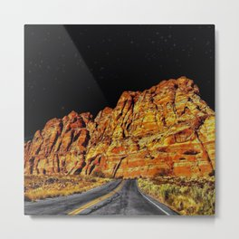 On The Road to the Stars Metal Print