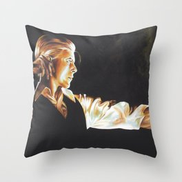 Station to Station Throw Pillow