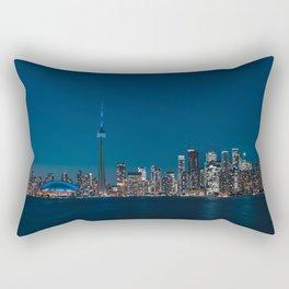 Toronto Blue Rectangular Pillow