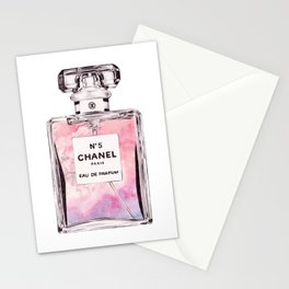 PERFUME No.5 PINK Stationery Cards