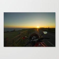 Jurassic Sunset Canvas Print