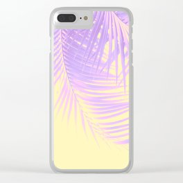 Palm Leaves Summer Vibes #2 #tropical #decor #art #society6 Clear iPhone Case