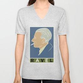 Ravel 2 Unisex V-Neck