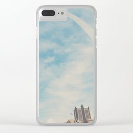 the gateway to the west ... Clear iPhone Case