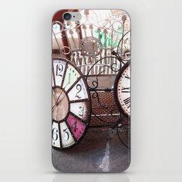 Take Your Time iPhone Skin