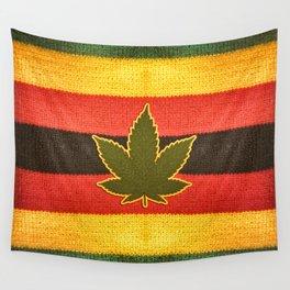 Rastafarian background Wall Tapestry