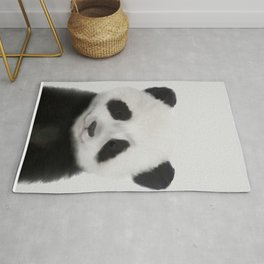 Baby Panda Print, Nursery Animal - Printable Wall Art - Kids Bedroom Poster, Boys Room Decor Rug