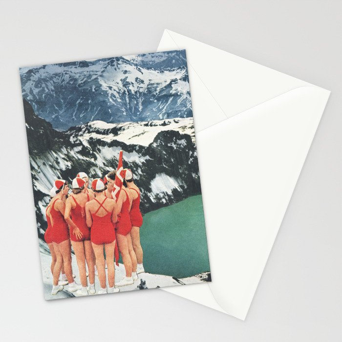 Polar Plunge Stationery Cards