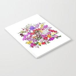 A celebration of orchids Notebook