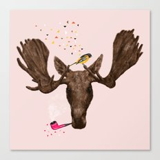 Moose II Canvas Print