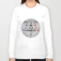 shiva Long Sleeve T-shirts featuring Shiva by Jonnea Herman