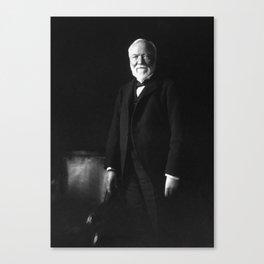 Andrew Carnegie Canvas Print
