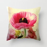 bohemian Throw Pillows featuring Bohemian by Olivia Joy StClaire