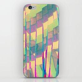 pastel prism iPhone Skin