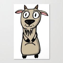 Lé Goat Canvas Print