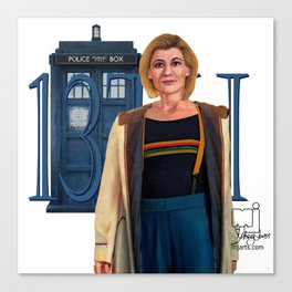 13th Doctor Canvas Print