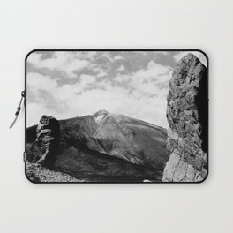 Teide in black Laptop Sleeve