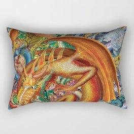 Dragons/All togather Rectangular Pillow