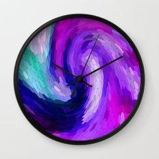 lilic swirl Wall Clock
