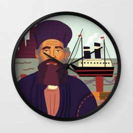 Land of Liberty, The Immigrant Wall Clock