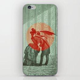 Kiss that Demon iPhone Skin