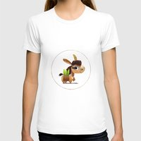 donkey T-shirts featuring Donkey by Jose Campa