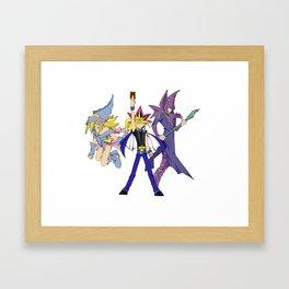 Yugioh: Duel Framed Art Print