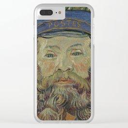 Portrait of Joseph Roulin Clear iPhone Case