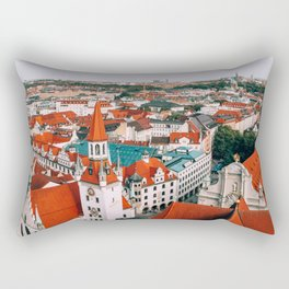 Hues Line is it Anyway?   Munich, Germany Rectangular Pillow