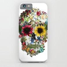 Skull flower Slim Case iPhone 6s