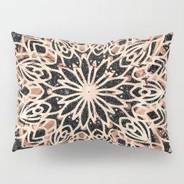 Metallic Mandala Pillow Sham