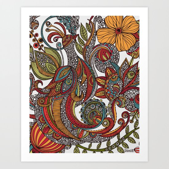 Feather Heaven Art Print