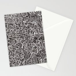 Textile 4 Stationery Cards