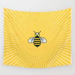 Don t worry – Bee happy – A Hell Songbook Edition Wall Tapestry