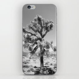 Joshua Tree Monochrome, No. 3 iPhone Skin