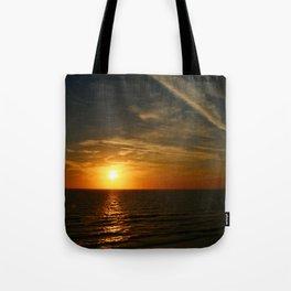 A Heavenly November Sunset Tote Bag