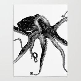 Cosmic Octopus Poster