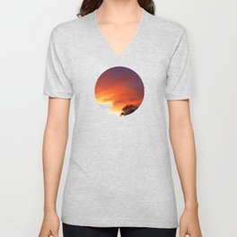 SSF Sunset 8 Unisex V-Neck