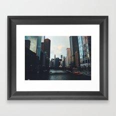'Good evening' Framed Art Print