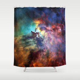 Lagoon Nebula Shower Curtain
