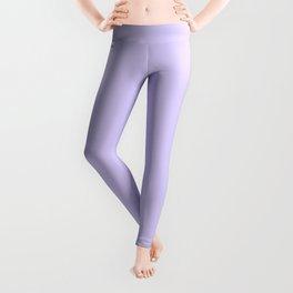 Pale Lavender Violet Leggings