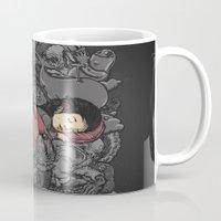 dreams Mugs featuring Dreams by Alex Solis