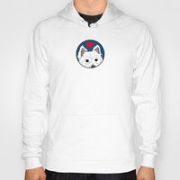 westie Hoodies featuring Westie Love: My Favorite Person in the Whole Wide World by Circus Dog Industries